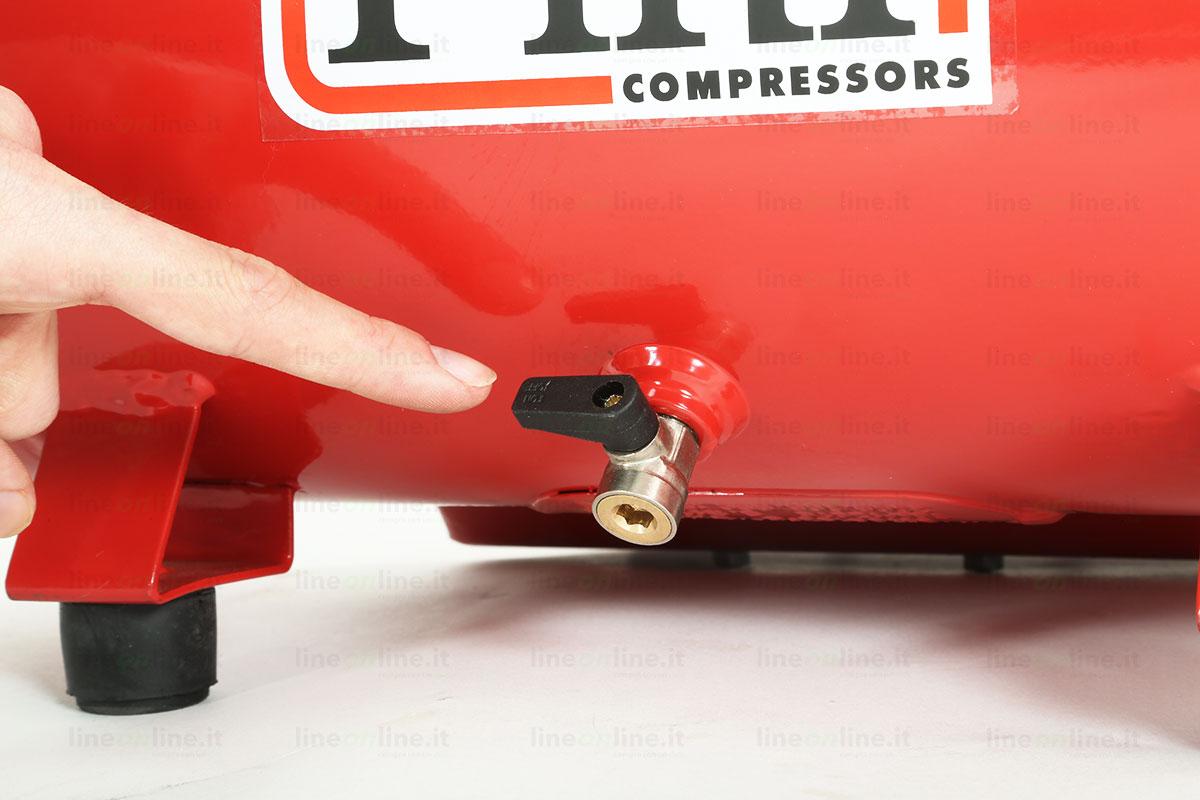 Compressore portatile Fini Energy 12 valvola spurgo