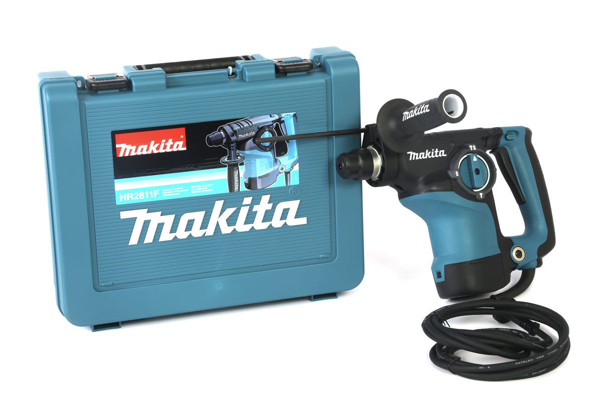 makita hr2811f bohrhammer sds plus 3 funktionen mit chipping ebay. Black Bedroom Furniture Sets. Home Design Ideas