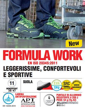catalogo calzature cofra linea Formula Work
