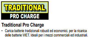 Caricabatterie Deca Traditional Pro-Charge