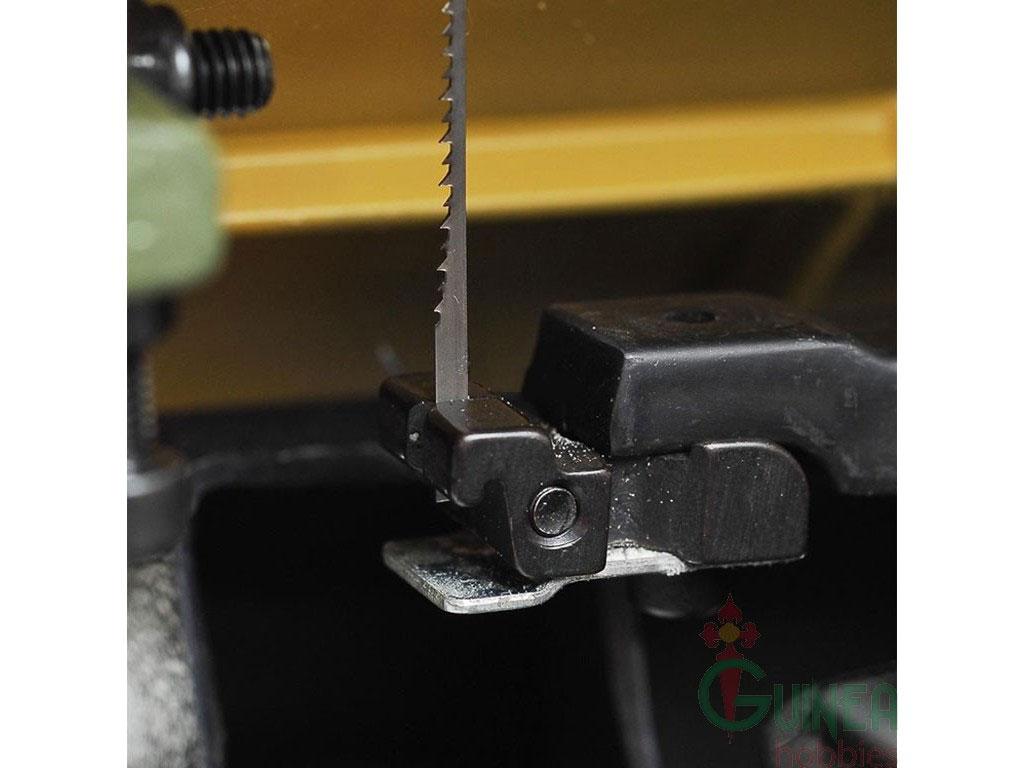 Blocchetto per fissare le lame nel traforo elettrico Proxxon DSH (lato inferiore)