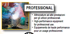 Saldatrice inverter Deca: linea professional