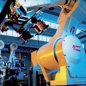 saldatrice inverter usata: processo di produzione industrializzato