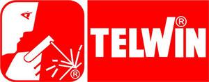 Saldatrice inverter Telwin, logo del produttore