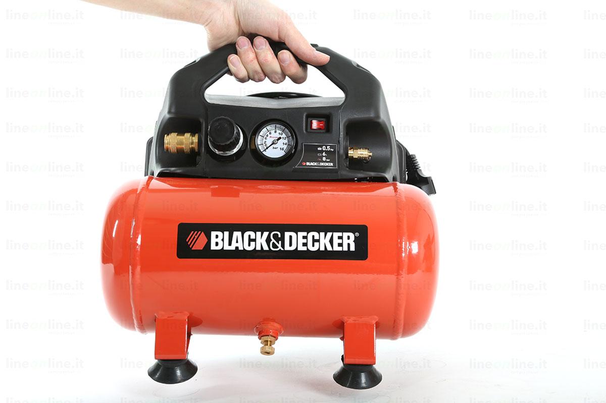 Compressore portatile Black and Decker BD55/6 trasporto