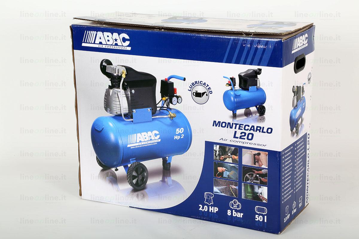 Compressore Abac Montecarlo L20 scatola originale