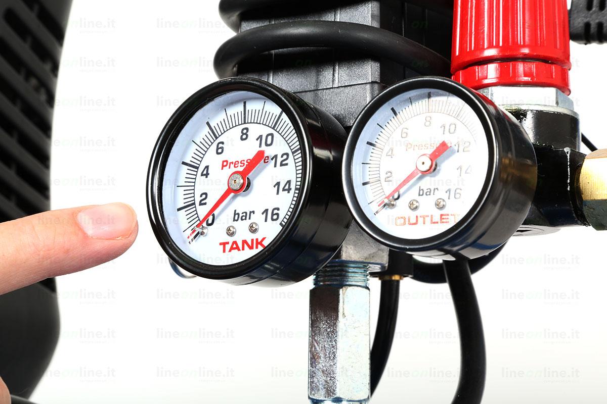 Compressore Abac Montecarlo L20 doppio manometro