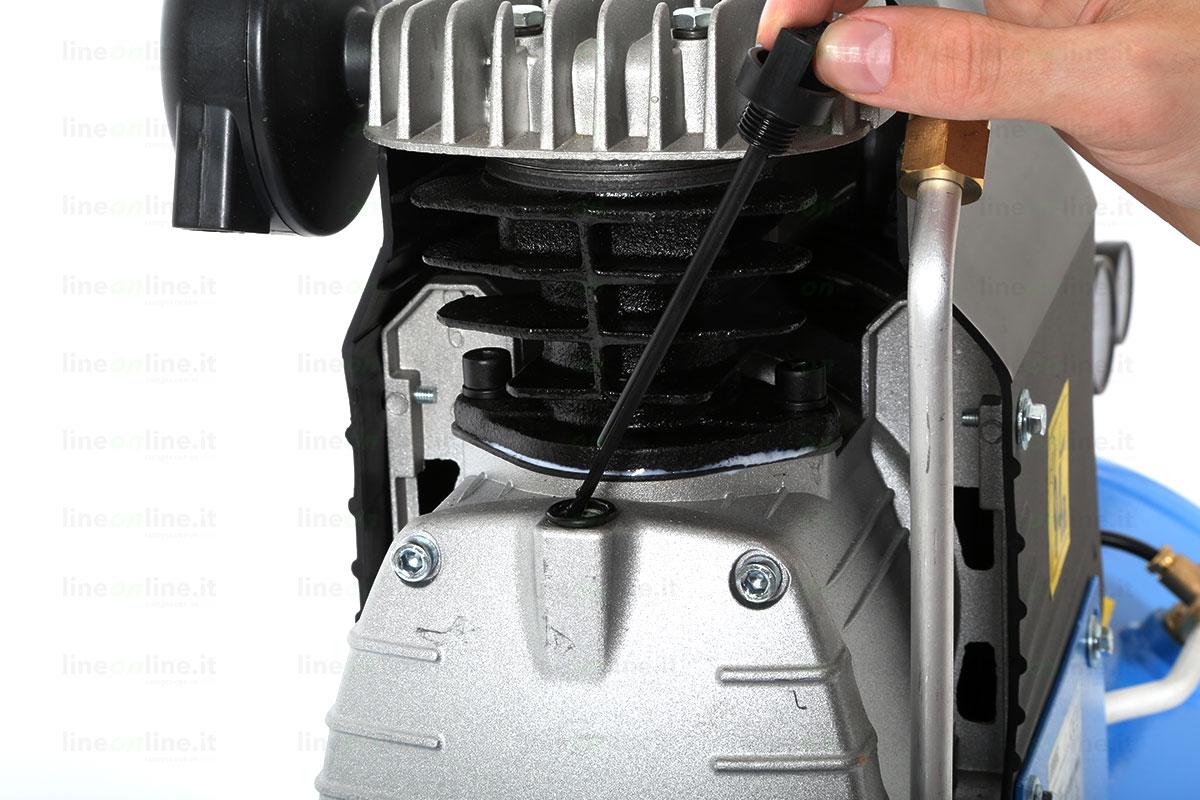 Compressore Abac Montecarlo L20 asta controllo olio