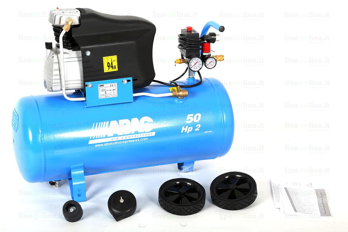 Compressore Abac Montecarlo L20 componenti smontati
