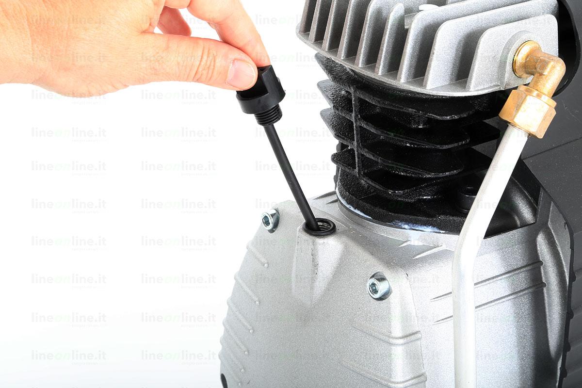 Compressore portatile ABAC START L20 asta olio