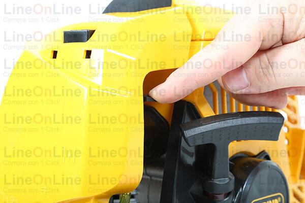 Decespugliatore Alpina BJ326 accensione motore