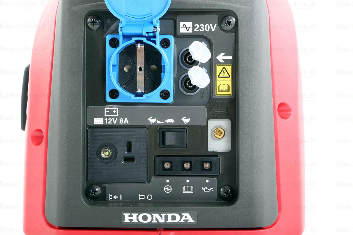 Generatore corrente Honda EU10i comandi attivi