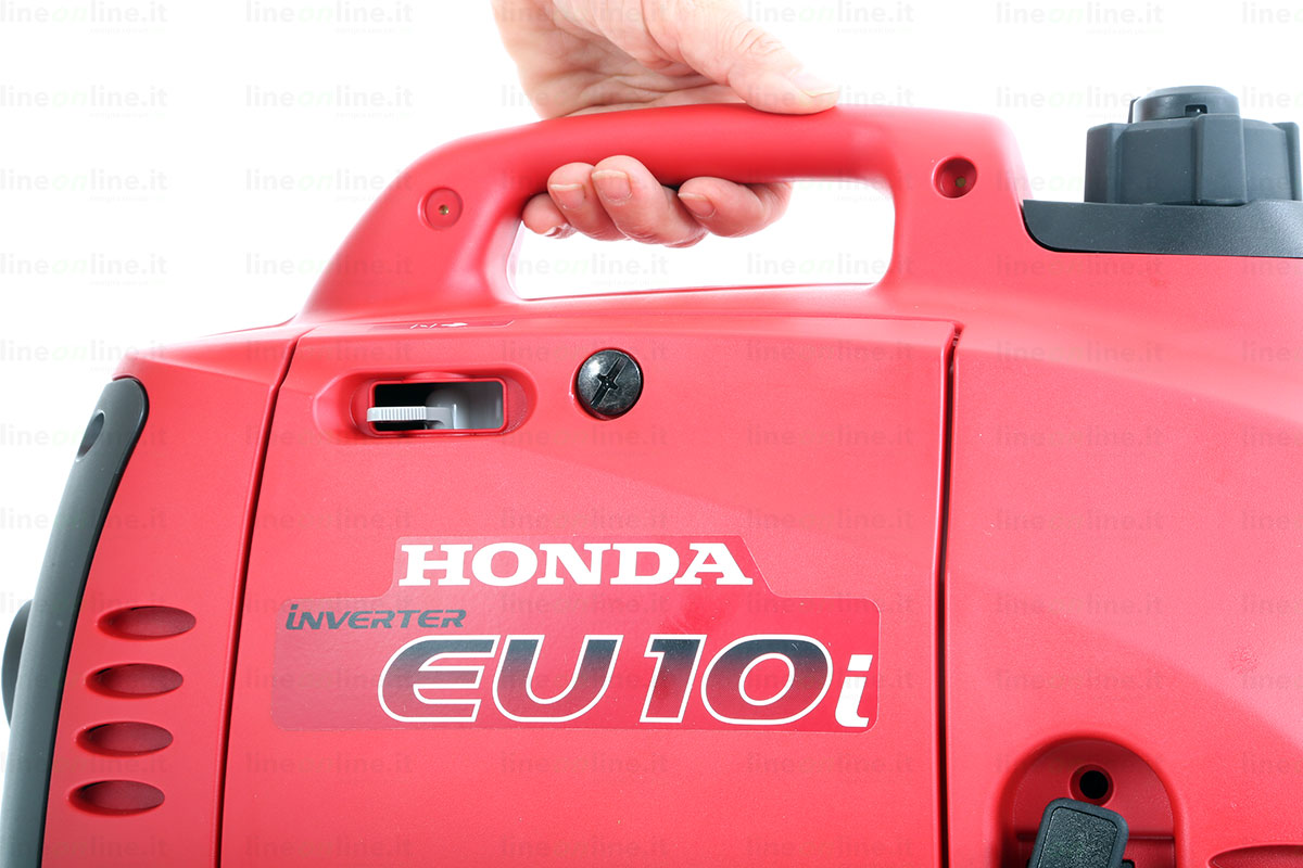 Generatore corrente Honda EU10i maniglia trasporto