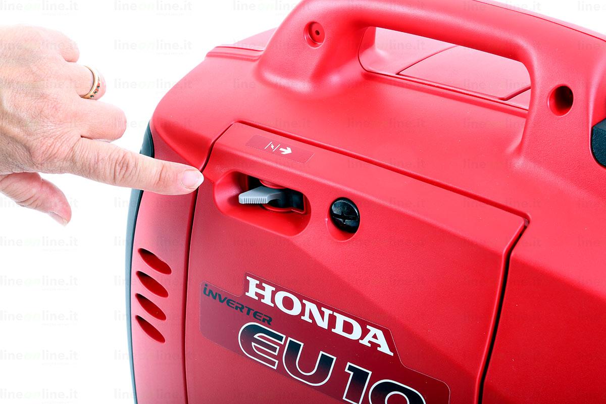 Generatore corrente Honda EU10i leva aria