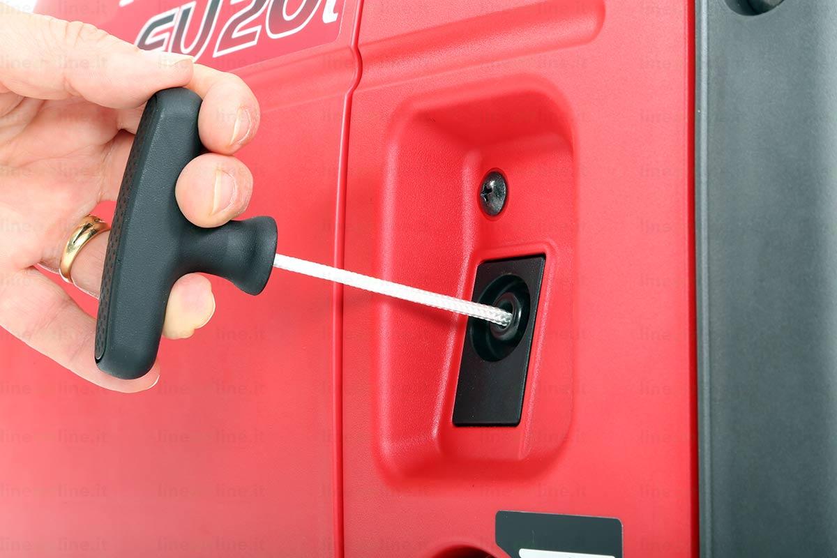 Generatore corrente Honda EU20i avviamento strappo