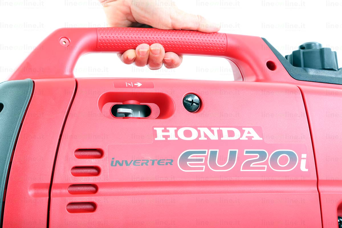 Generatore corrente Honda EU20i maniglia trasporto