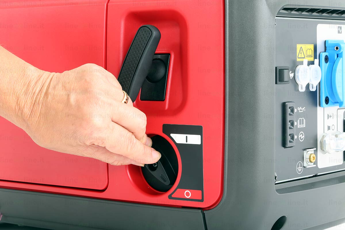 Generatore corrente Honda EU20i interruttore