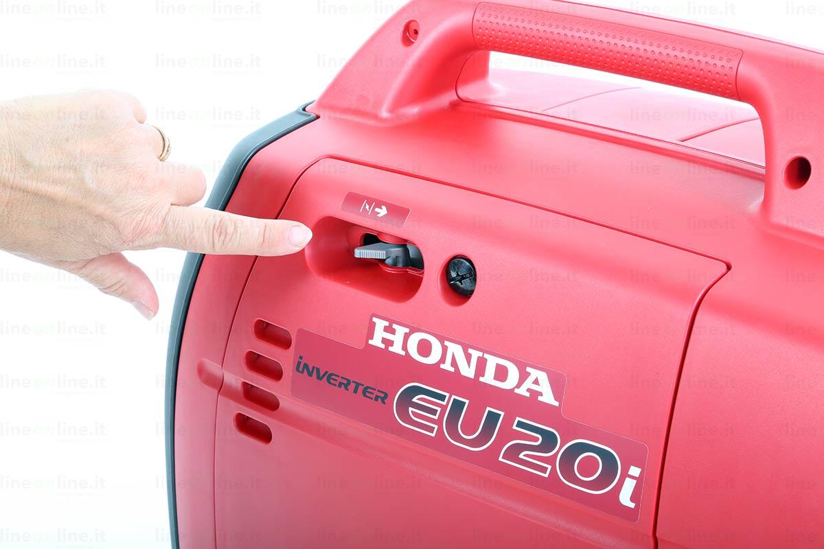 Generatore corrente Honda EU20i leva aria