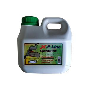 Flacone da 1 lt olio per catena motosega