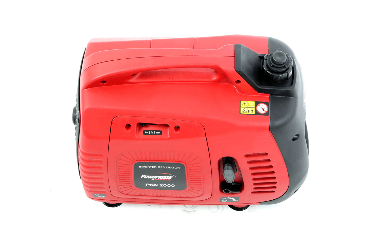 Generatore corrente Pramac PMi2000 immagine superiore