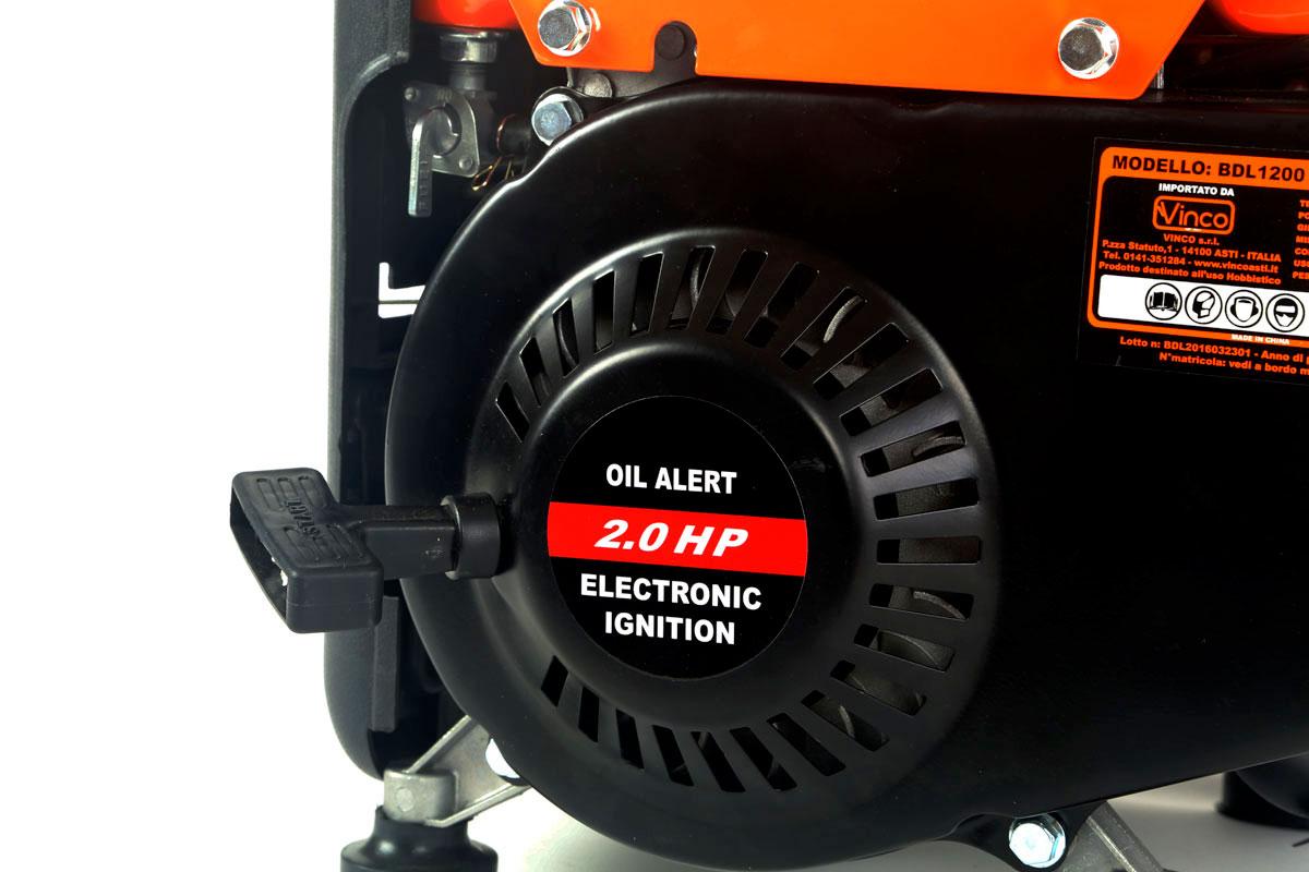 Generatore corrente Vinco BDL1200 avviamento a strappo