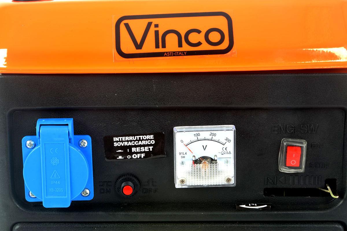 Generatore corrente Vinco BDL1200 Pannello controllo