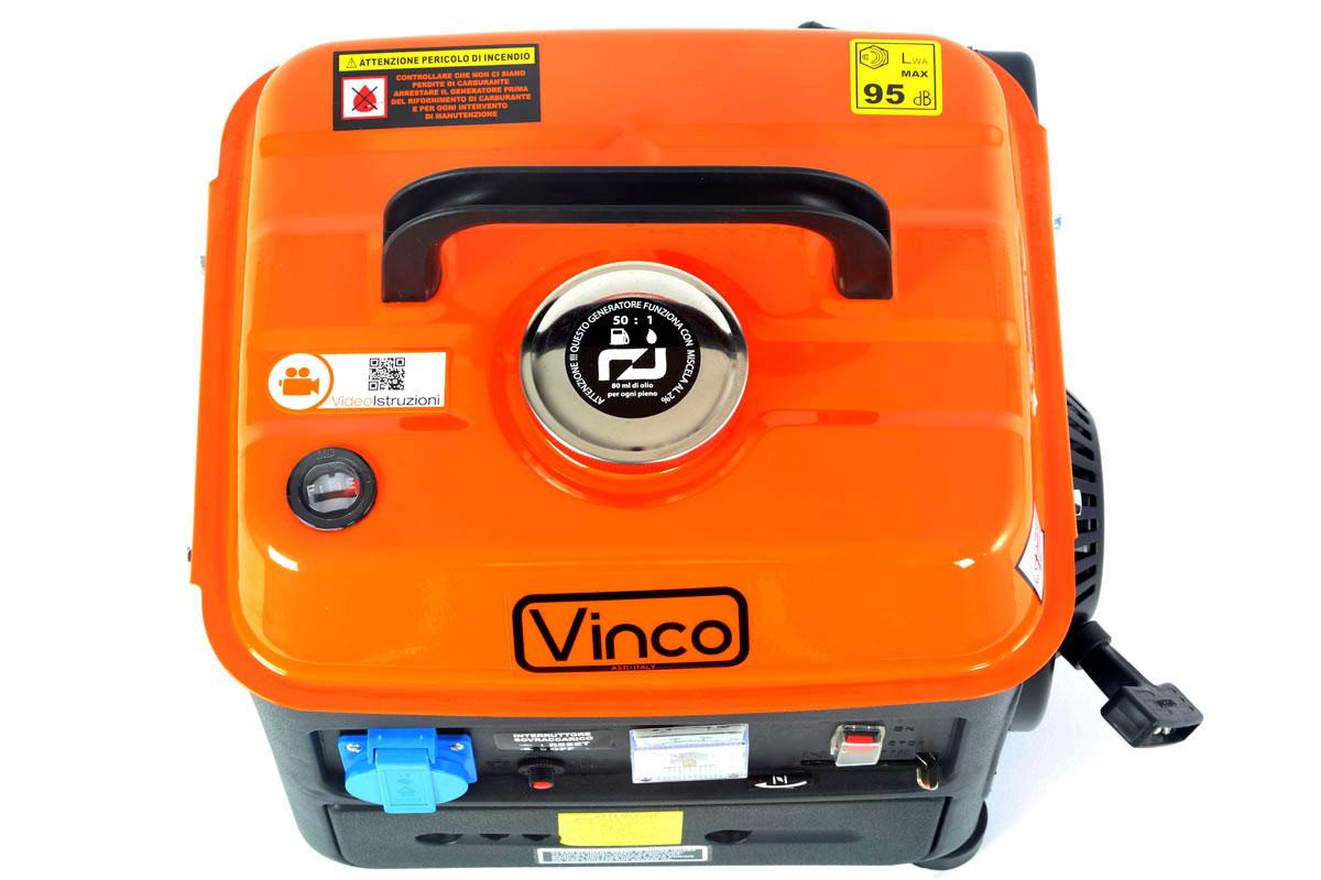 Generatore corrente Vinco BDL1200 immagine superiore