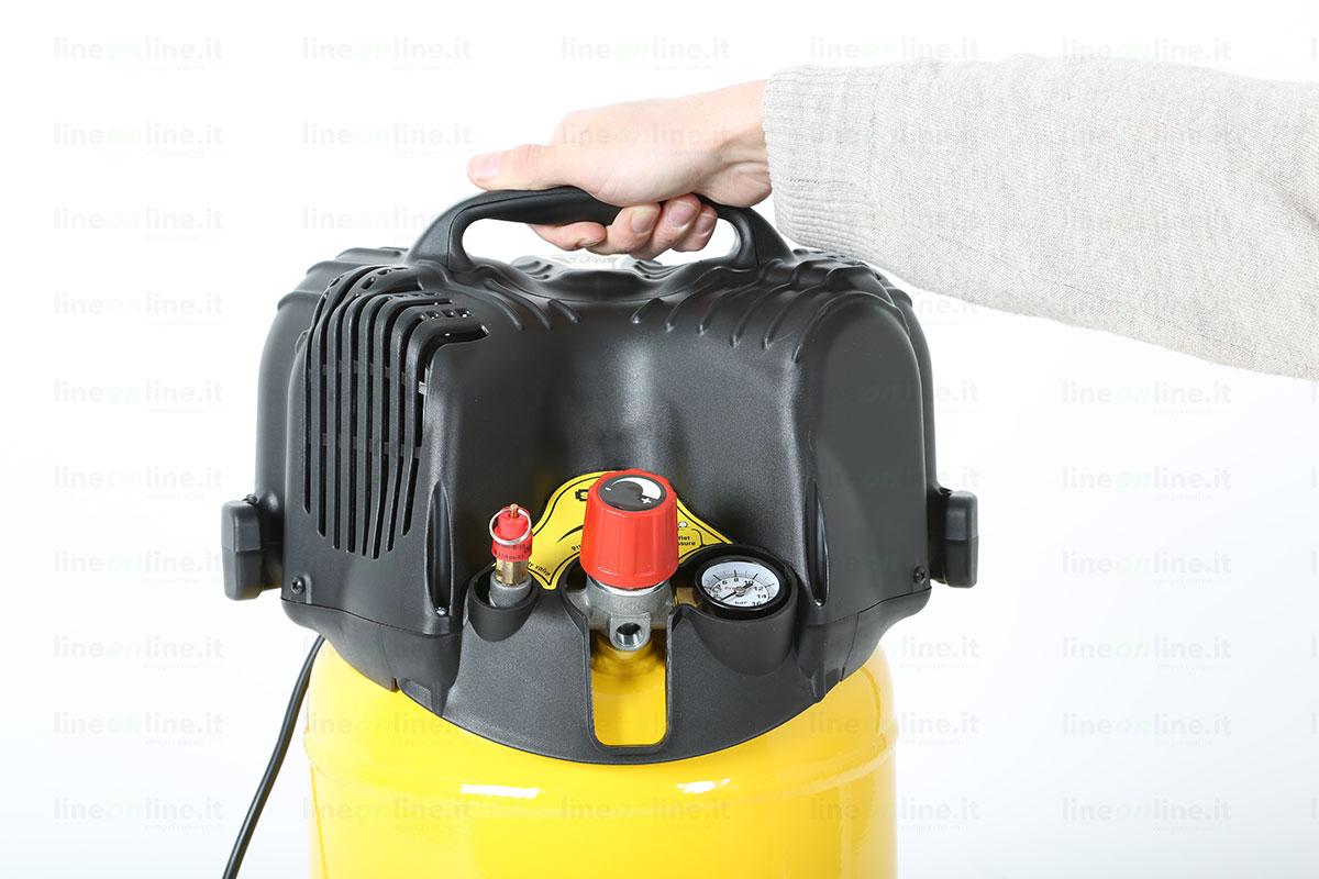 Compressore aria Stanley D200/10/24/V trasporto