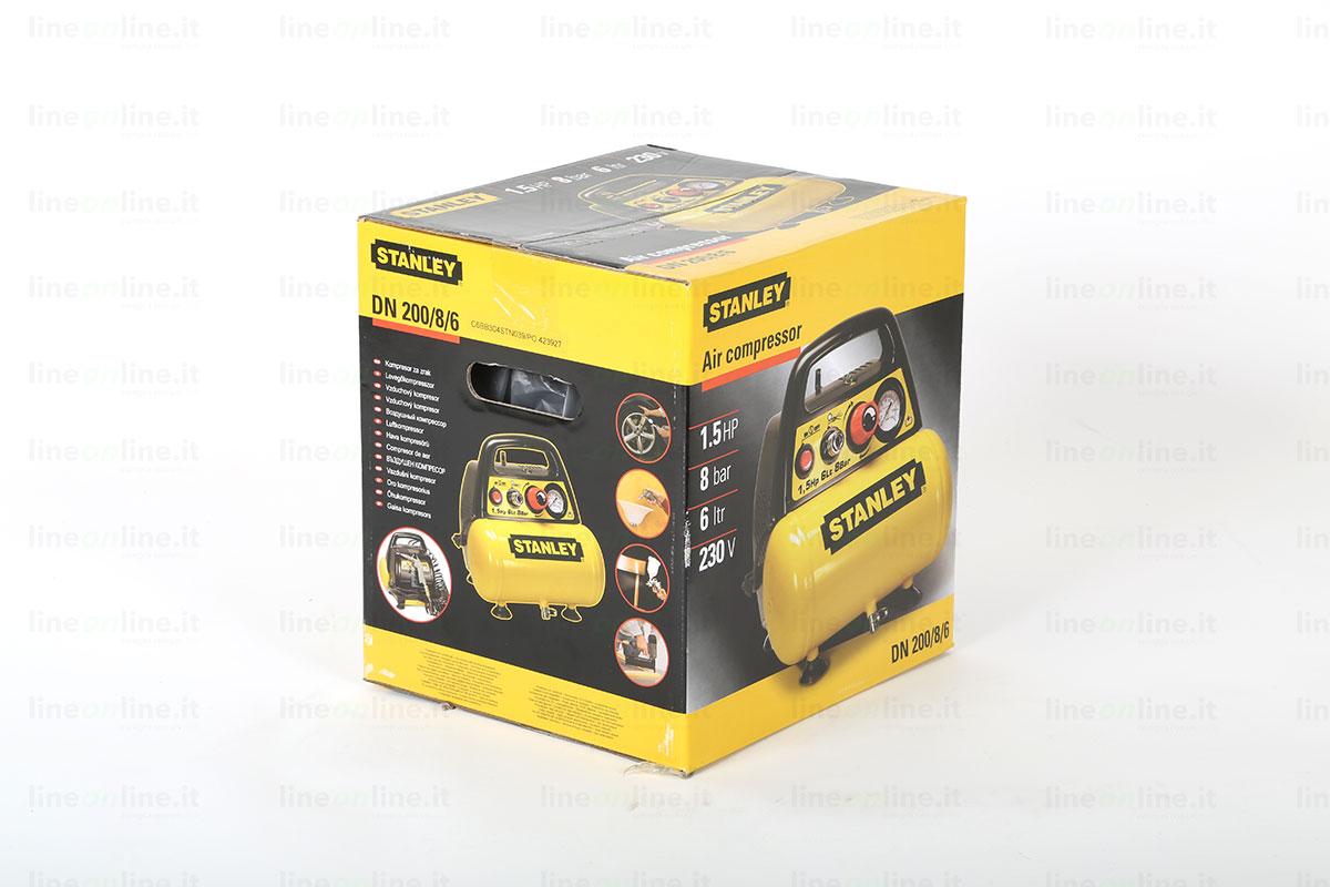 Compressore portatile Stanley DN 200/8/6 scatola