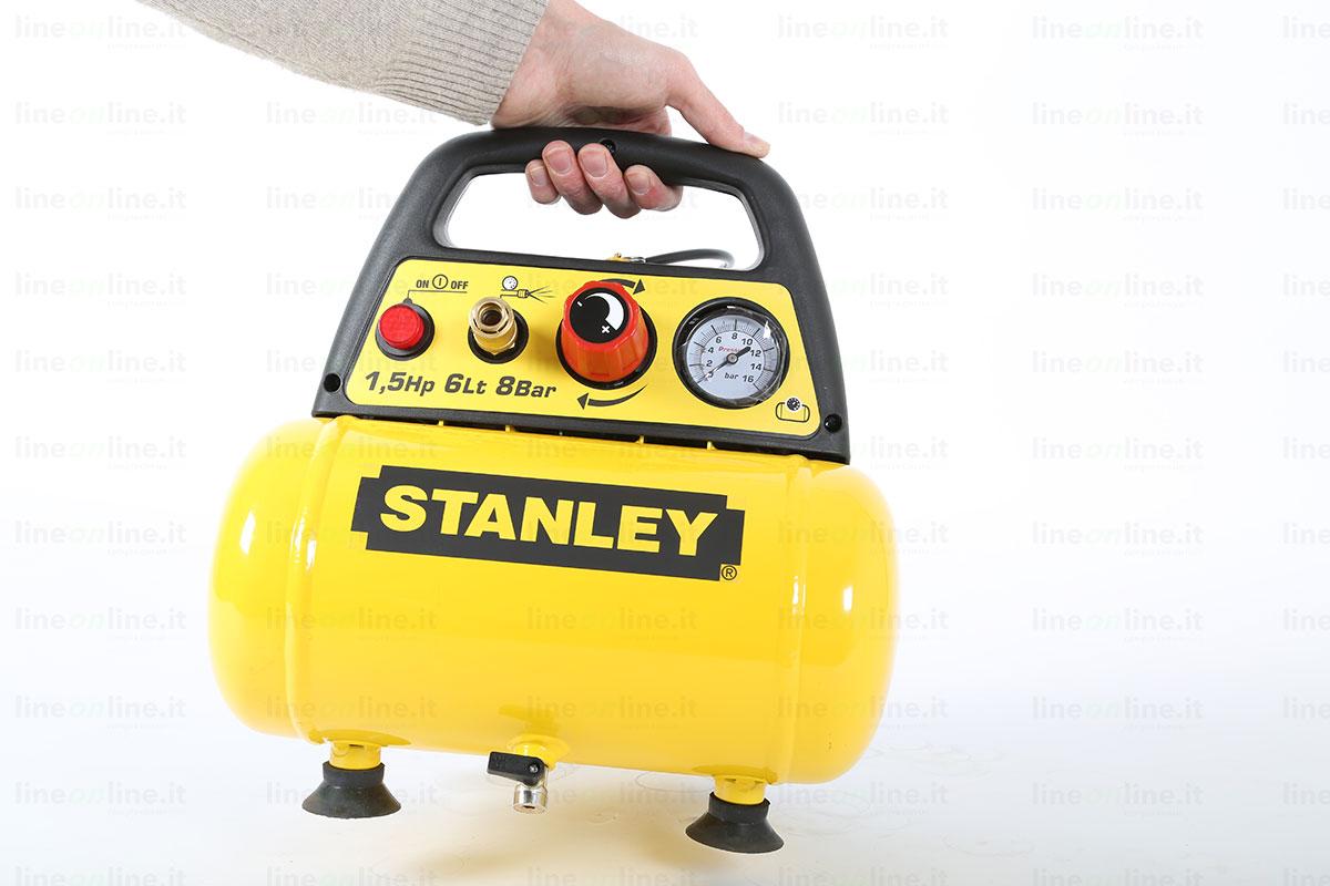 Compressore portatile Stanley DN 200/8/6 maniglia