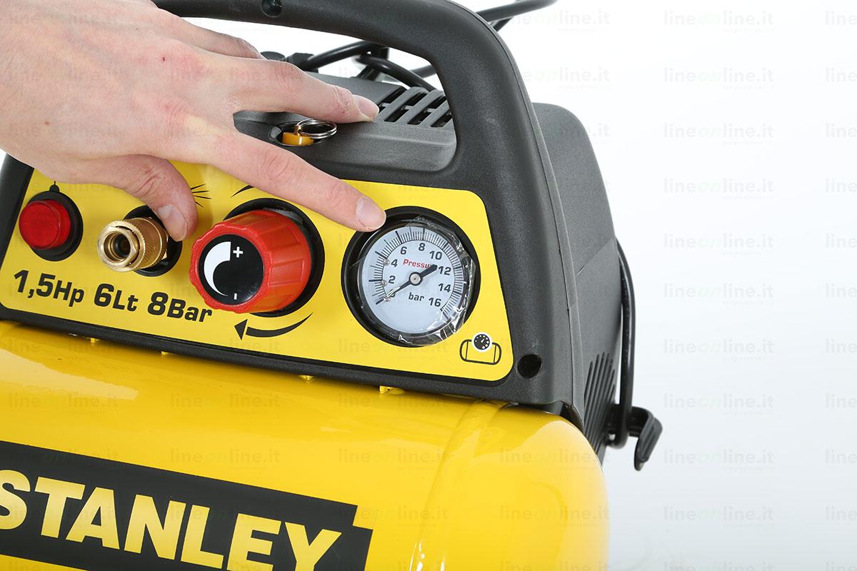 Compressore portatile Stanley DN 200/8/6 manometro