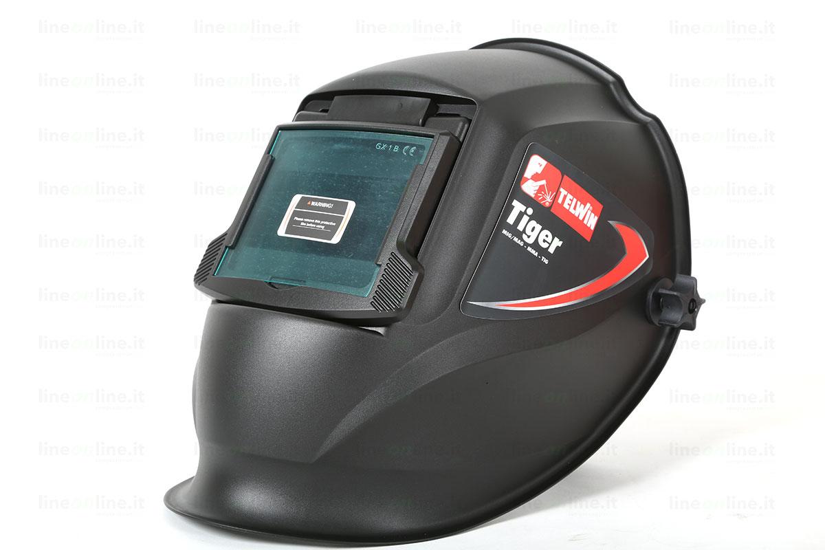 Saldatrice inverter TELWIN FORCE 145 815862 casco chiuso
