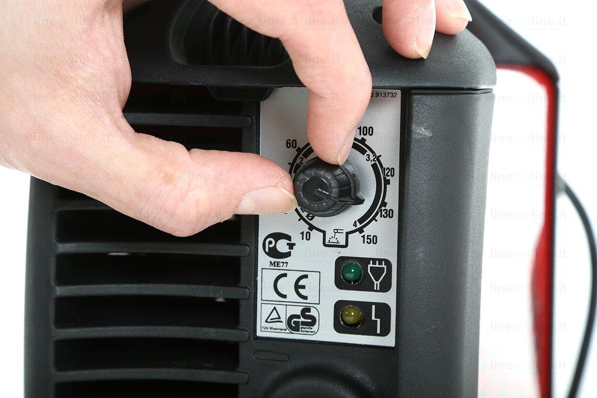 Saldatrice inverter TELWIN TECNICA 171/S amperaggio